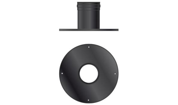 MT EW 100 mm Ø Muurdoorvoer groot - 2 stuks
