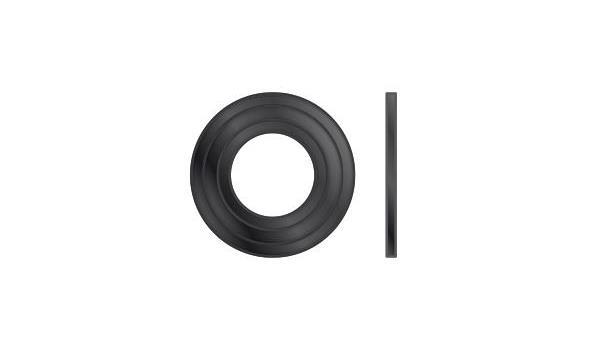 MT EW 100 mm Ø Rozet silicone - 2 stuks