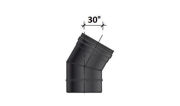 MT EW 80 mm Ø Bocht 30° - 3 stuks