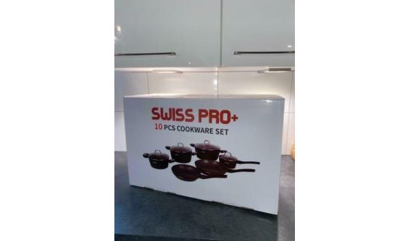 SwissPro+ pannenset 10-delig