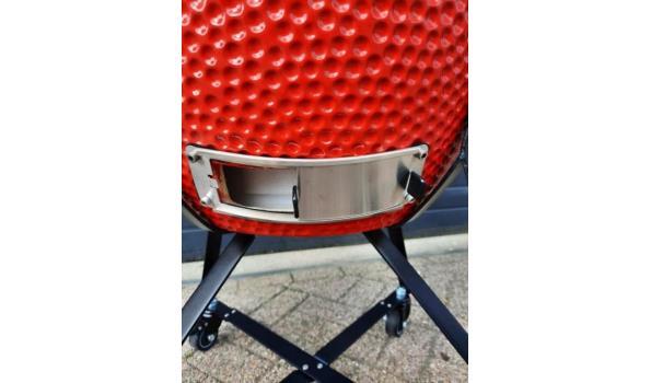 Kamado BBQ rood 23 inch