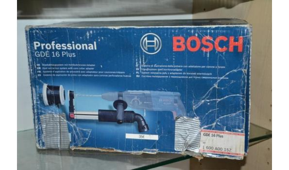 Bosch GDE 16 Plus telescopische afzuigset voor SDS-plus