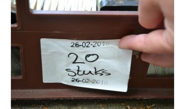 Voorstrijk kwasten - aantal ca. 20 stuks