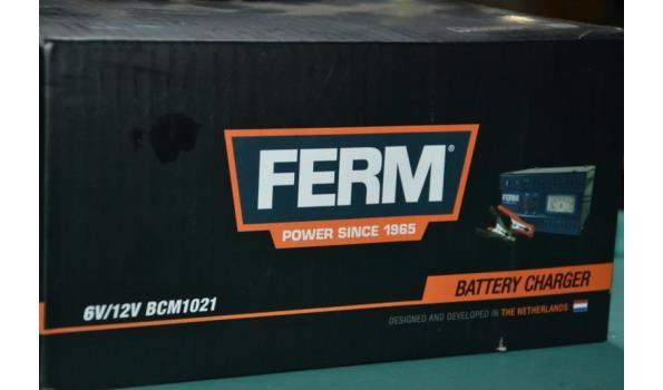 Accu lader 6V / 12V - Ferm BCM 1021