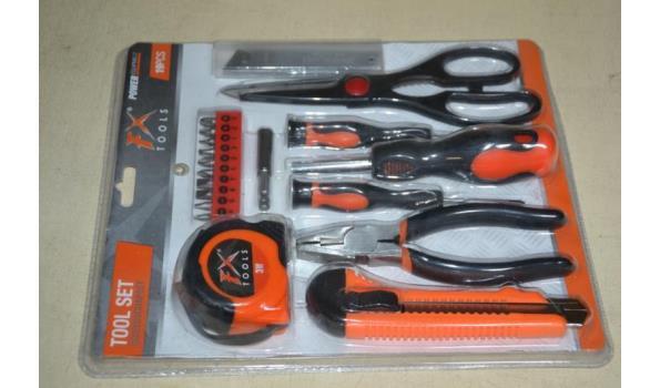 Gereedschapset FX Tools - 3 pakketten