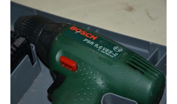 Accu schroefmachine - Bosch