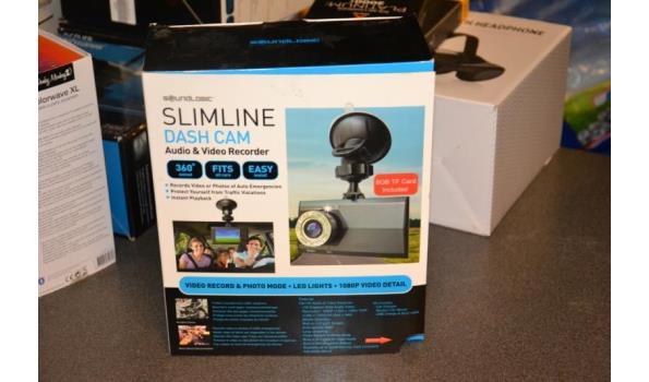 Dash cam - HD audio & video recorder