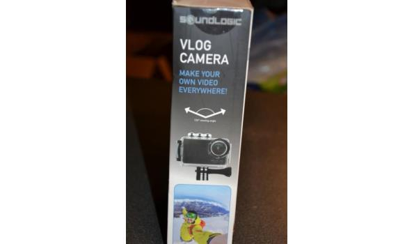 VLOG camera - selfie cam
