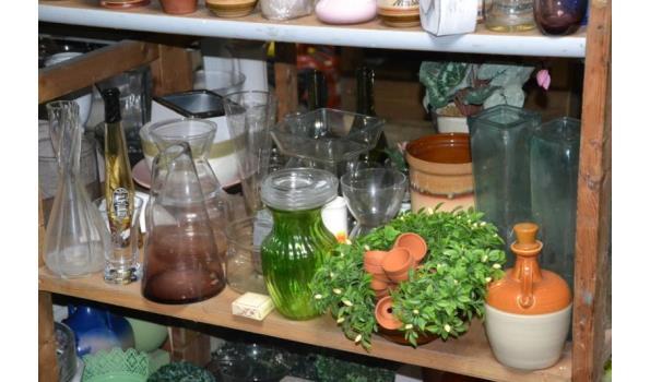 Bloemenvazen/potten & diversen