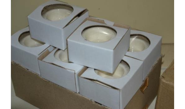 Waxinelichthouders - ca. 14 stuks
