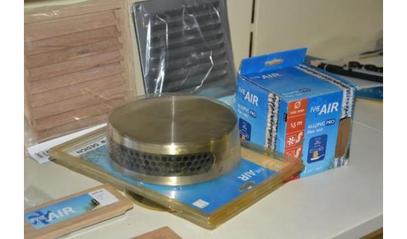 Ventilatieroosters - diverse modellen & maatvoeringen