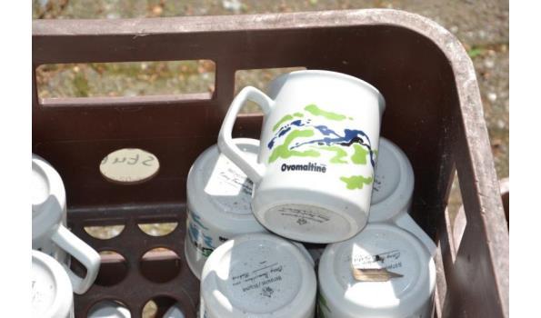 Partij koffiemokken - aantal ca. 40 stuks