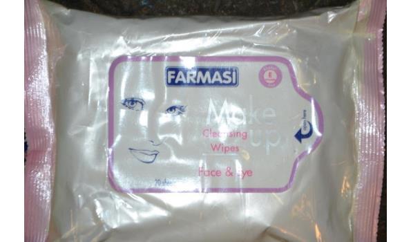 Reinigingsdoekjes - Farmasi Face & Eye