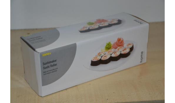 Sushi benodigdheden o.a. chop sticks & rollers
