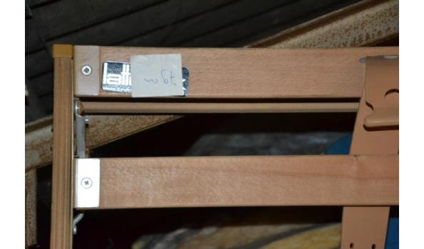 1x Lattenbodem - 79x200cm