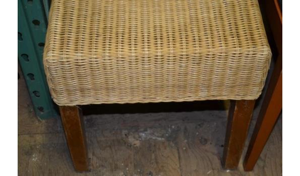 Rotan stoel - 2 stuks