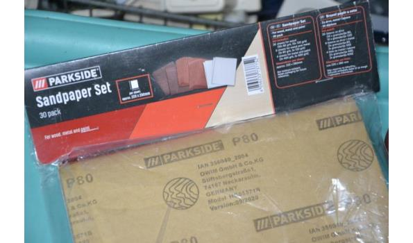 Schuurpapierset - 4 diverse pakketten