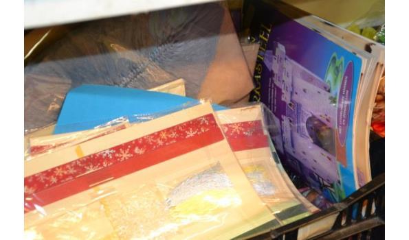 Partij knutselspullen & boeken