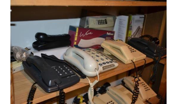 Partij telefoons