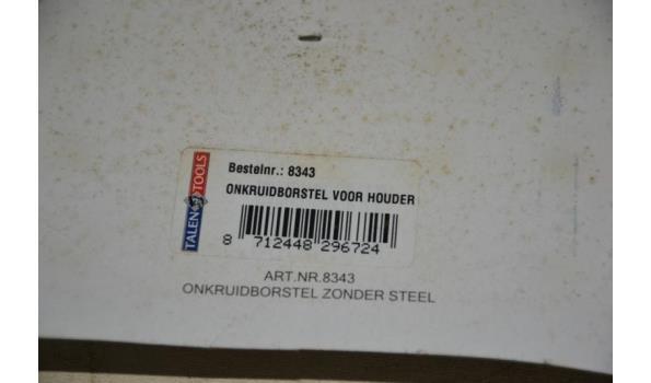 Onkruidborstel voor houder - 3 pakketten