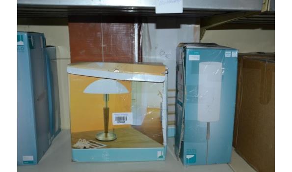 Eglo hanglamp & staande lamp