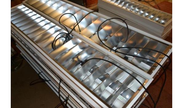Tl-armatuur- ca. 150x30cm - 10 stuks