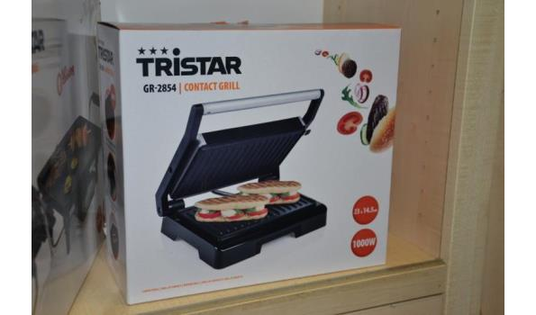 Contact grill 23 x 14,5cm - Tristar GR-2854
