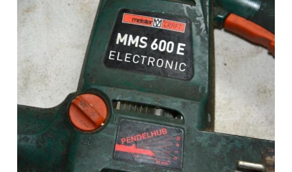 Meister Craft elektrische reciprozaag type 600E