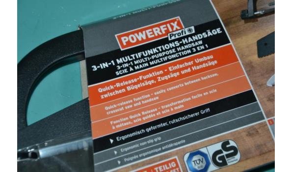 PowerFix - Multifunctionele handzaag 3-in-1