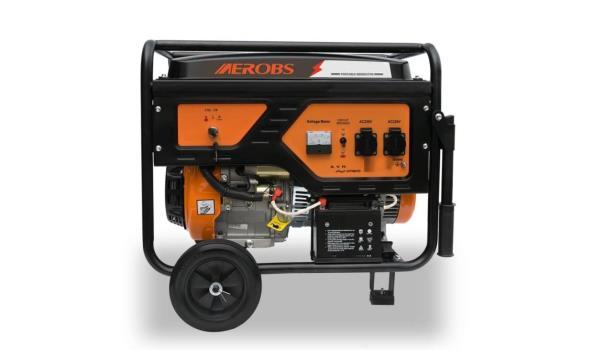 Generator 220 volt/3000 watt, met elektrische start