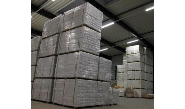 Laminaat vloer eiken design 81,75 m2 met ondervloer
