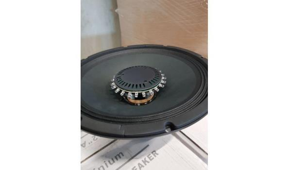 Alecto 12 inch Professional loudspeaker met led 13 stuks