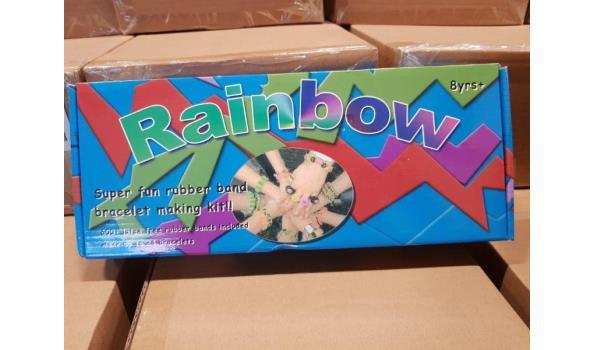 Rainbow Loom doosjes ca. 45 stuks