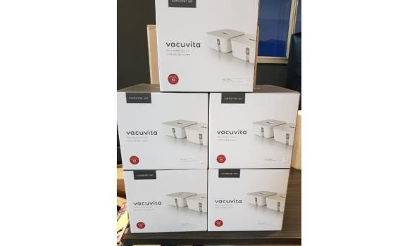Vacuvita - vacuum food container 5 stuks