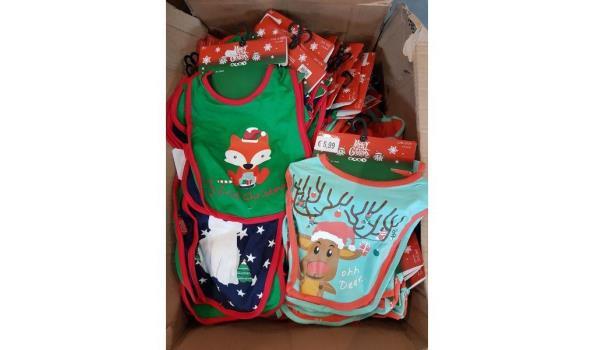 Slabertjes kerstmotieven 2 packs