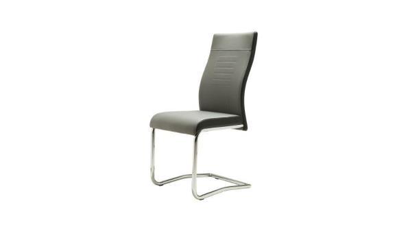 Set van 4 stoelen - Lucky grijs