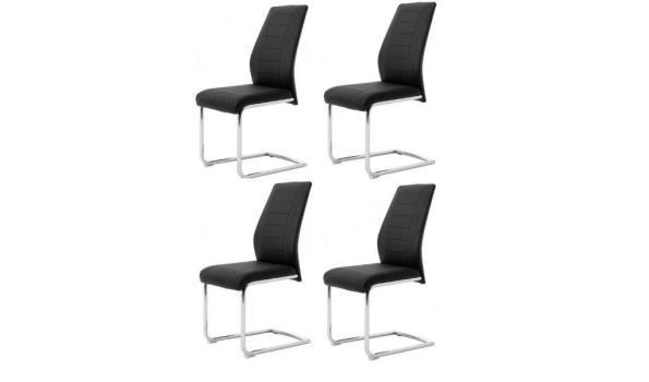 Set van 4 stoelen - bernd zwart