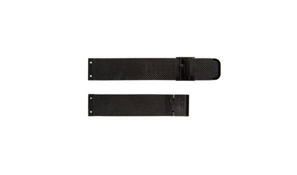 Dresselberg RILEY zilveren kast / twee bandjes: zilveren + zwart