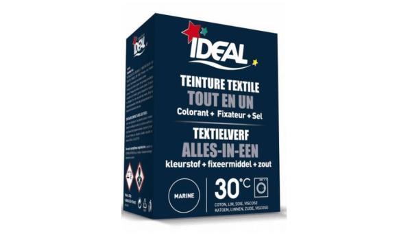 Textielverf 3IN1 marineblauw, 10x