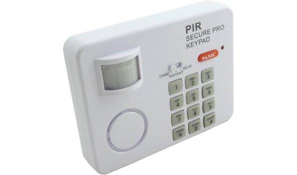 Alarm keypad met sensor