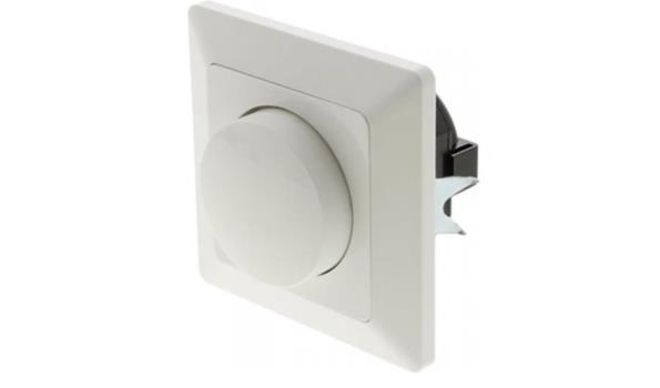 WCD Inbouwdimmer voor LED, Halogeen en Gloeilampen, wit