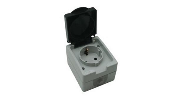 WCD Spatwaterdicht Stopcontact, 10x