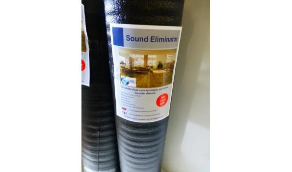 Ondervloer 80 m2 Sound Eliminator