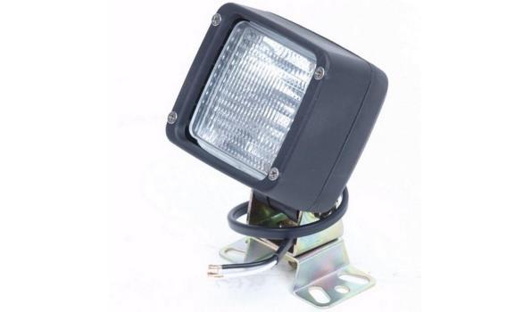 Werklamp, rechthoekig, 2x