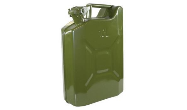 Brandstoftank, 10 liter