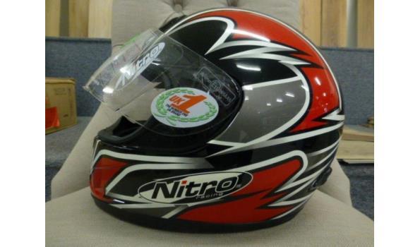 Motorhelm Merk Nitro