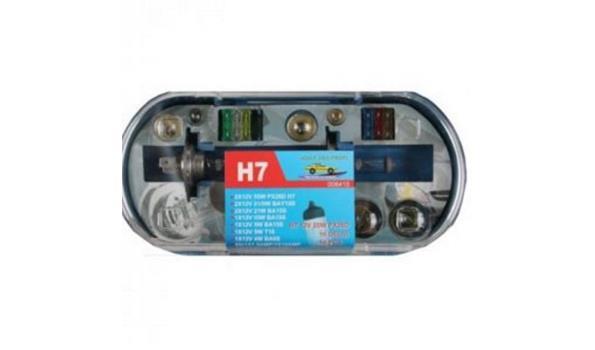 Autolampen set 16 delig H4, 3x