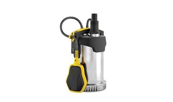 Dompelpomp met vlotter voor vuilwater, 1100 watt, 16500 l/h