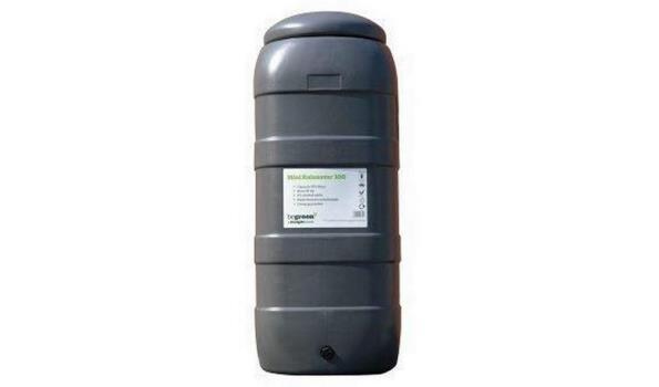 Regenton grijs, 100 liter