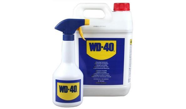 WD40 5 LTR + SPRAY APPLICATOR